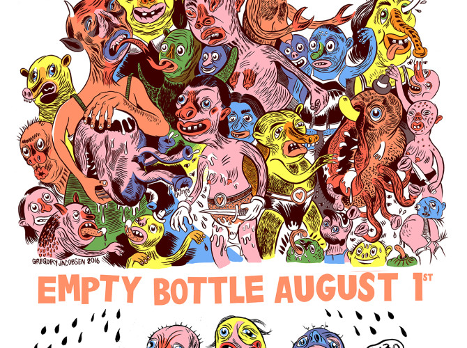 Walking Bicycles heading back into studio soon!!  Playing Empty Bottle Aug 1st with Bobby Conn and more…